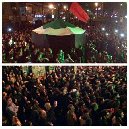 اقدام عجیب غریب شهردار نوشهر در جلوگیری از آئین عزاداری امام حسین(ع) در نوشهر+ تصاویر